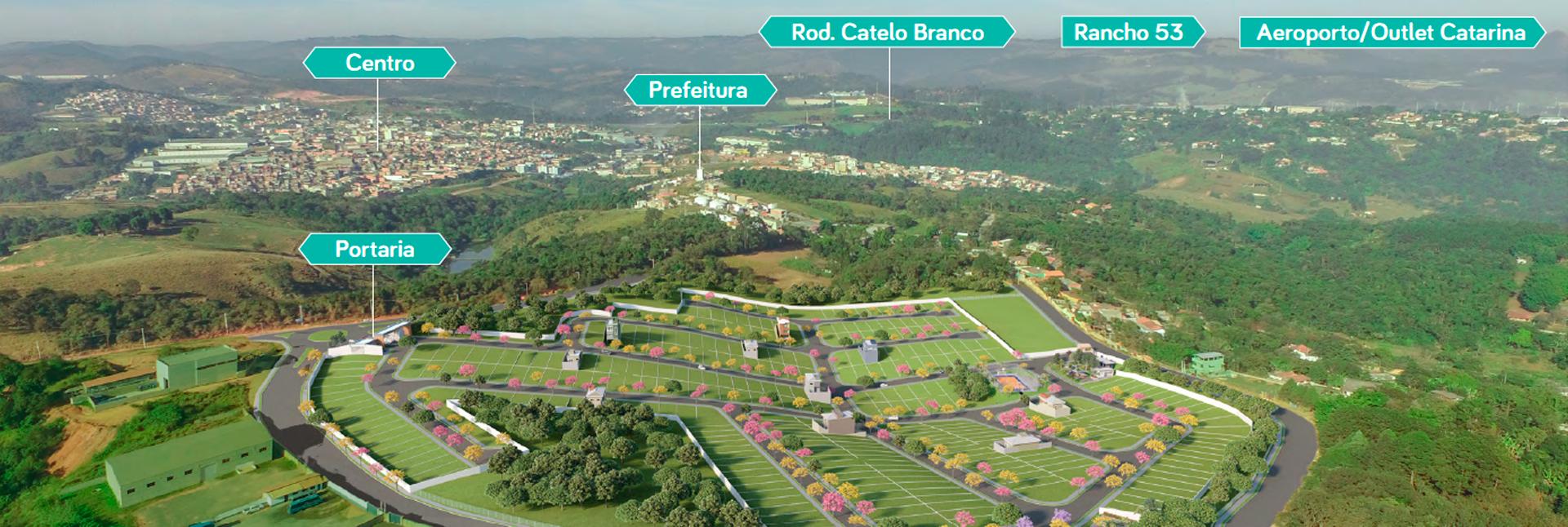 Reserva Araçari - Lotes em Araçariguama SP com projetos InstaCasa